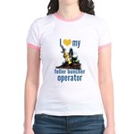 Love my feller operator Jr. Ringer T-Shirt