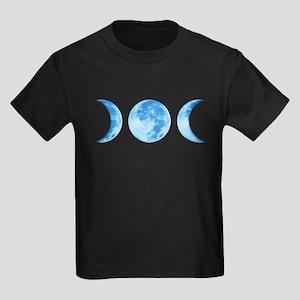 Three Phase Moon Kids Dark T-Shirt