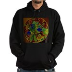 Magical Dragonfly Design Sweatshirt