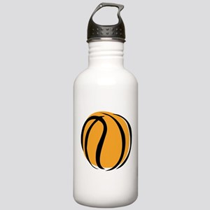 BASKETBALL *60* {yellow} Stainless Water Bottle 1.