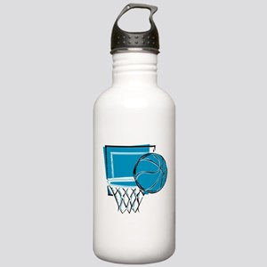 BASKETBALL *52* {blue} Stainless Water Bottle 1.0L