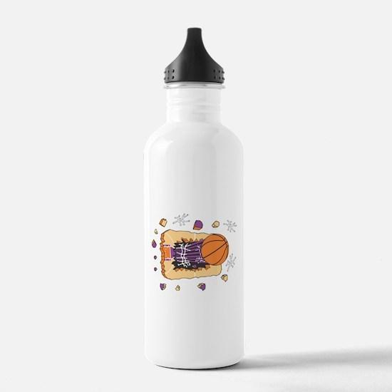 BASKETBALL *44* {purple} Water Bottle