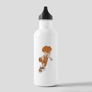 BASKETBALL *40* {lt orange} Stainless Water Bottle