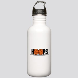 HOOPS *2* {black} Stainless Water Bottle 1.0L