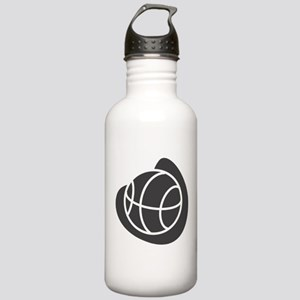 BASKETBALL *20* {gray} Stainless Water Bottle 1.0L