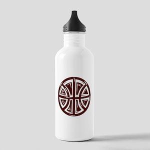 BASKETBALL *12* {crimson} Stainless Water Bottle 1