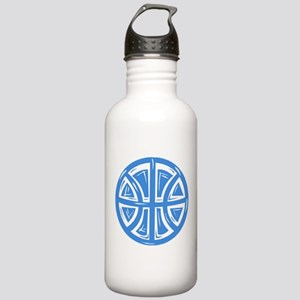 BASKETBALL *12* {blue} Stainless Water Bottle 1.0L