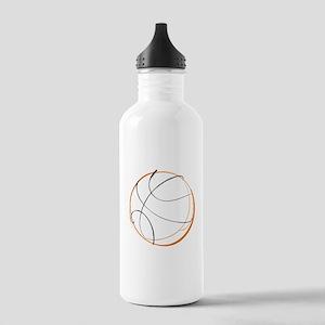 BASKETBALL *9* {orange} Stainless Water Bottle 1.0