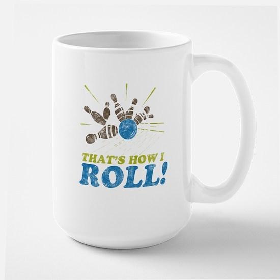 How I Roll Large Mug
