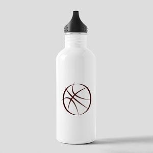 BASKETBALL *6* {crimson 4} Stainless Water Bottle