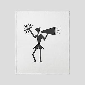 CHEER *30* {gray} Throw Blanket