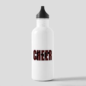 CHEER *15* {crimson} Stainless Water Bottle 1.0L