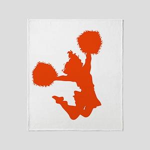 CHEER *10* {orange} Throw Blanket