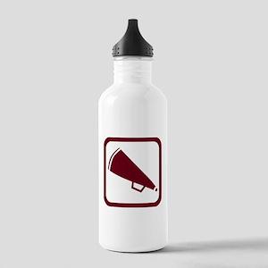 MEGAPHONE *5* {crimson} Stainless Water Bottle 1.0