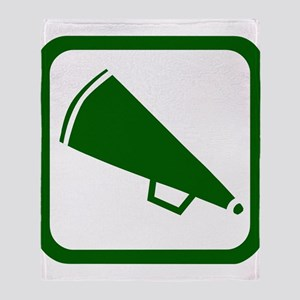 MEGAPHONE *5* {green} Throw Blanket