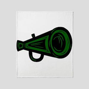 MEAGAPHONE *4* {green/black} Throw Blanket