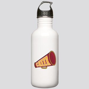 MEGAPHONE *1* {red/yellow} Stainless Water Bottle