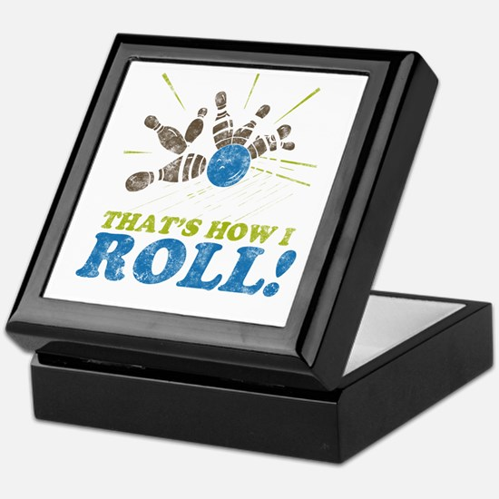 How I Roll Keepsake Box