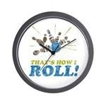 How I Roll Wall Clock