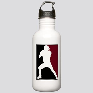 FOOTBALL *26* {crimson/white} Stainless Water Bott