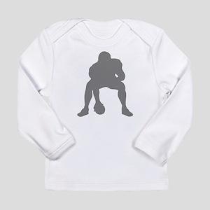 FOOTBALL *23* {gray 2} Long Sleeve Infant T-Shirt