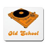 Old School Turntable Mousepad