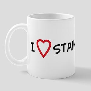 I Love Stained Glass Mug
