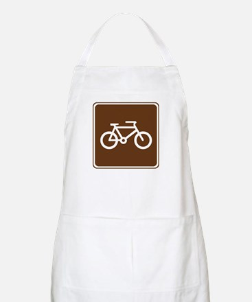 Bicycle Trail Sign Apron