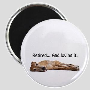 Greyhound Retired Magnet