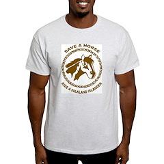 Falkland Islander Ash Grey T-Shirt