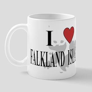 I Love Falkland Islands Mug