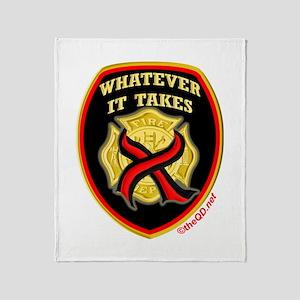 ThinRedLine WhateverItTakes Throw Blanket