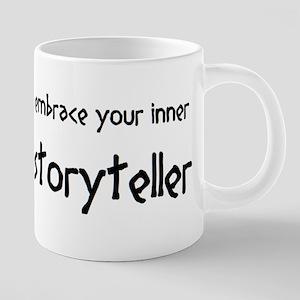 inner storyteller 20 oz Ceramic Mega Mug