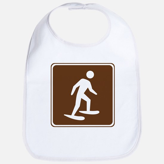 Snow Shoeing Sign Bib