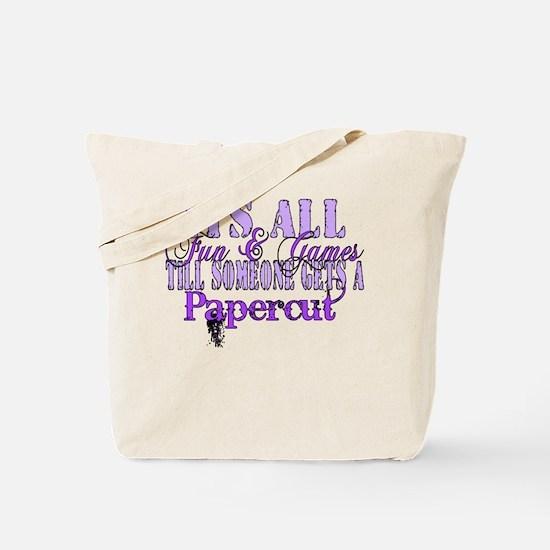 Papercut Tote Bag