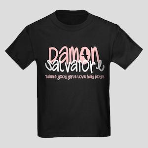 Damon Kids Dark T-Shirt