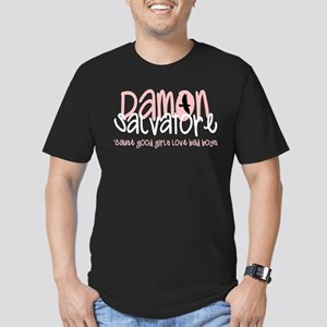 Damon Men's Fitted T-Shirt (dark)