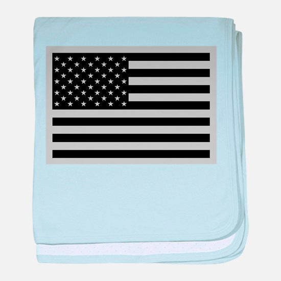 Subdued US Flag Tactical baby blanket