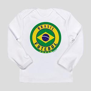 Brasil Futebol/Brazil Soccer Long Sleeve Infant T-