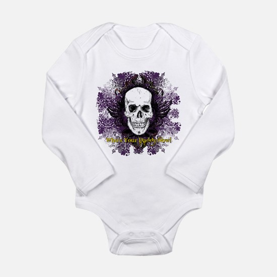 Cute Whos your daddy Long Sleeve Infant Bodysuit