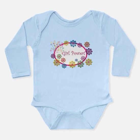 Girl Power Long Sleeve Infant Bodysuit