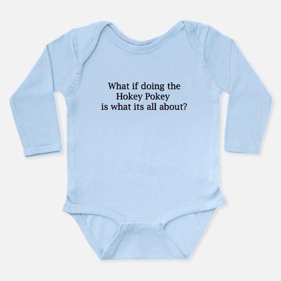 Hokey Pokey Long Sleeve Infant Bodysuit