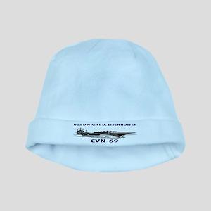 USS EISENHOWER baby hat