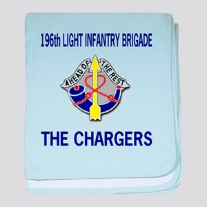 196th CHARGERS baby blanket