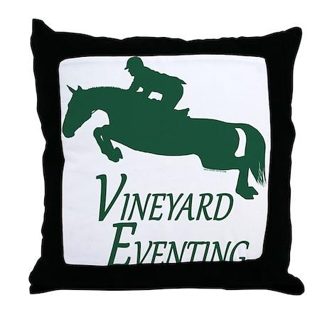 Vineyard Eventing Bulk Throw Pillow by dressageart