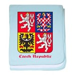 Czech Republic baby blanket