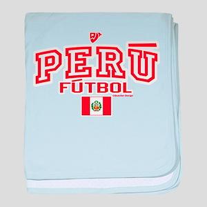 Peru Futbol/Soccer baby blanket