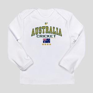 AUS Australia Cricket Long Sleeve Infant T-Shirt