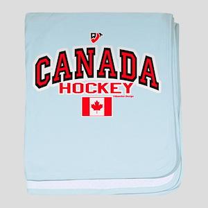 CA(CAN) Canada Hockey baby blanket