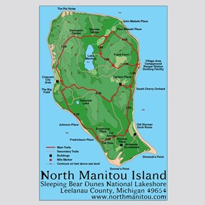 North Manitou Island -Large Poster